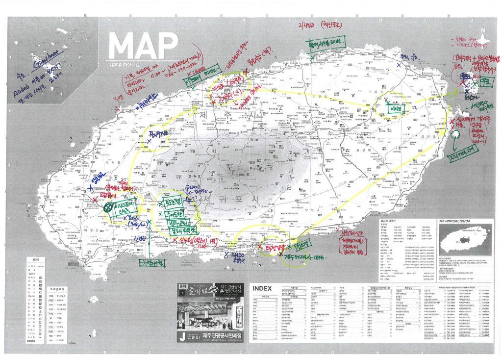 Jeju Map_15 0702